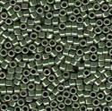 Picture of Miyuki Delica Seed Beads | 11/0 - DB-1566 (A) Opaque Avocado Green Luster (5 g.)