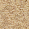 Picture of Miyuki Delica Seed Beads | 11/0 - DB-1571 (A) Opaque Antique Ivory AB (5 g.)