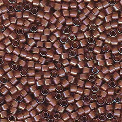 Picture of Miyuki Delica Seed Beads | 11/0 - DB-1737 (A) Beige Lined Lt. Amethyst AB (5 g.)