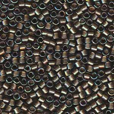 Picture of Miyuki Delica Seed Beads | 11/0 - DB-1773 (A) Beige Lined Grey AB (5 g.)