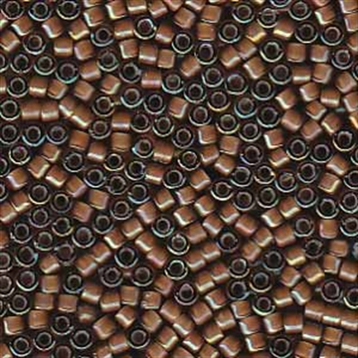 Picture of Miyuki Delica Seed Beads | 11/0 - DB-1790 (A) White Lined Sable Brown AB (5 g.)
