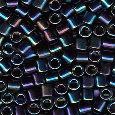 Picture of Miyuki Delica Seed Beads | 8/0 - DBL-0005 (B) Midnight Blue Iris (5 g.)