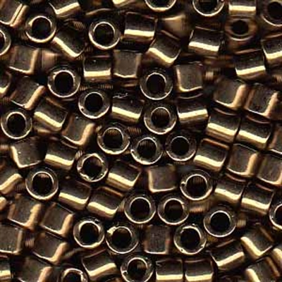Picture of Miyuki Delica Seed Beads | 8/0 - DBL-0022 (I) Metallic Bronze (5 g.)
