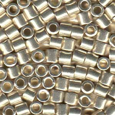 Picture of Miyuki Delica Seed Beads | 8/0 - DBL-0035 (I) Galvanized Silver (5 g.)