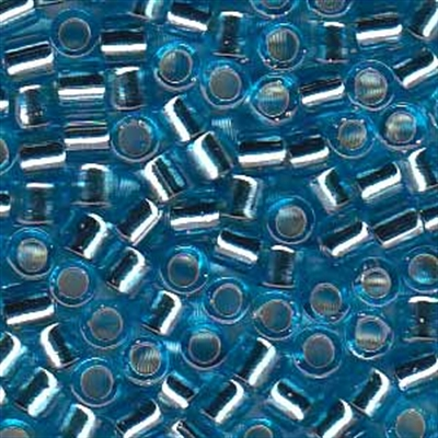 Picture of Miyuki Delica Seed Beads | 8/0 - DBL-0044 (D) Silver-Lined Lt. Blue (5 g.)