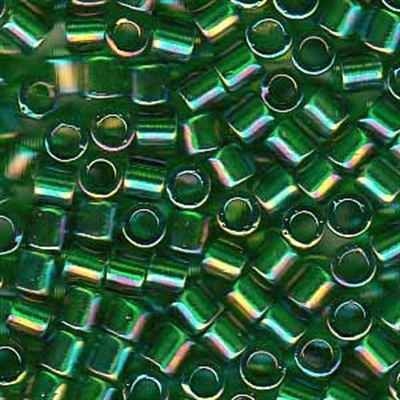Picture of Miyuki Delica Seed Beads | 8/0 - DBL-0152 (A) Transparent Green AB (5 g.)