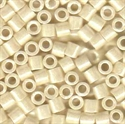 Picture of Miyuki Delica Seed Beads | 8/0 - DBL-0203 (B) Opaque Eggshell Luster (5 g.)
