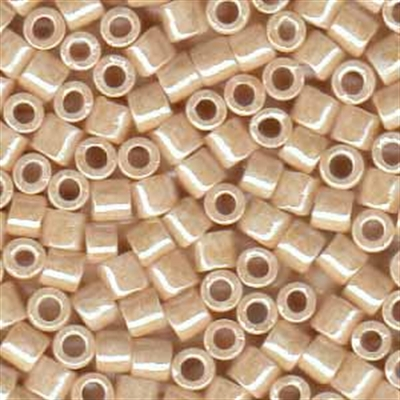 Picture of Miyuki Delica Seed Beads | 8/0 - DBL-0204 (B) Opaque Lt. Beige Luster (5 g.)