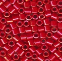 Picture of Miyuki Delica Seed Beads | 8/0 - DBL-0214 (D) Opaque Red AB