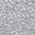Picture of Miyuki Delica Seed Beads | 8/0 - DBL-0231 (A) White Ceylon (5 g.)
