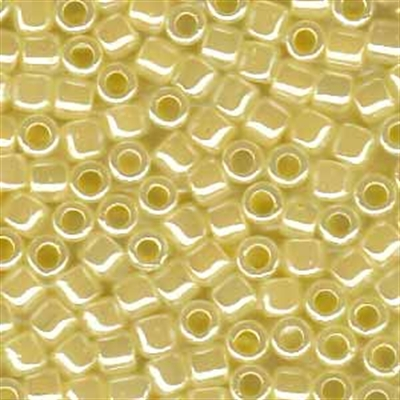 Picture of Miyuki Delica Seed Beads | 8/0 - DBL-0232 (B) Pastel Yellow Ceylon (5 g.)