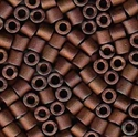 Picture of Miyuki Delica Seed Beads | 8/0 - DBL-0312 (L) Matte Metallic Copper AB (5 g.)