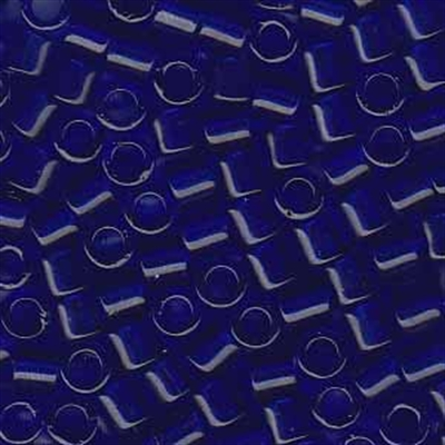 Picture of Miyuki Delica Seed Beads | 8/0 - DBL-0707 (A) Transparent Cobalt Blue (5 g.)
