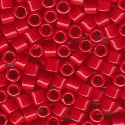 Picture of Miyuki Delica Seed Beads | 8/0 - DBL-0723 (A) Opaque Red (5 g.)