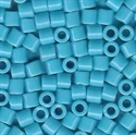 Picture of Miyuki Delica Seed Beads | 8/0 - DBL-0725 (A) Opaque Cyan Blue (5 g.)