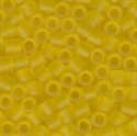 Picture of Miyuki Delica Seed Beads | 8/0 - DBL-0743 (C) Matte Transparent Yellow (5 g.)