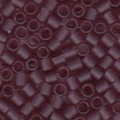 Picture of Miyuki Delica Seed Beads | 8/0 - DBL-0765 (C) Matte Transparent Dk. Lilac (5 g.)