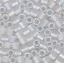 Picture of Miyuki Delica Seed Beads | 8/0 - DBL-0851 (C) Matte Transparent Crystal AB (5 g.)
