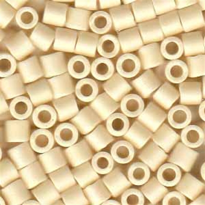 Picture of Miyuki Delica Seed Beads | 8/0 - DBL-0883 (C) Matte Opaque Cream AB (5 g.)