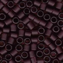 Picture of Miyuki Delica Seed Beads | 8/0 - DBL-1264 (C) Matte Transparent Dk. Amethyst (5 g.)