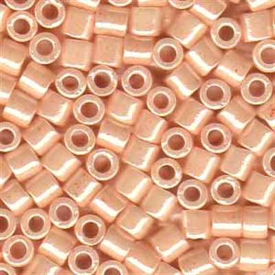 Picture of Miyuki Delica Seed Beads | 8/0 - DBL-1532 (C) Opaque Dusty Peach Luster (5 g.)
