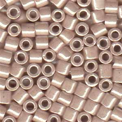 Picture of Miyuki Delica Seed Beads | 8/0 - DBL-1535 (C) Opaque Dusty Pink Champagne Luster (5 g.)