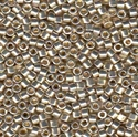 Picture of Miyuki Delica Seed Beads | 11/0 - DB-1831 (O) DURACOAT Galvanized Silver (5 g.)