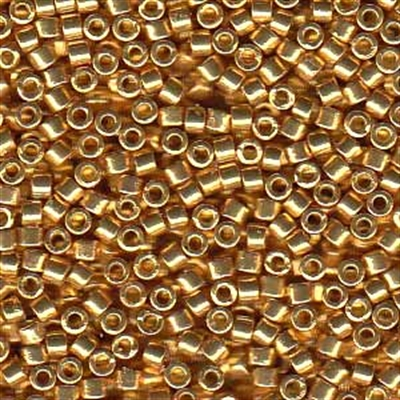 Picture of Miyuki Delica Seed Beads | 11/0 - DB-1832 (S) DURACOAT Galvanized Bright Gold (5 g.)