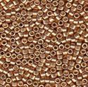 Picture of Miyuki Delica Seed Beads | 11/0 - DB-1834 (S) DURACOAT Galvanized Rose Gold  (5 g.)