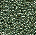 Picture of Miyuki Delica Seed Beads | 11/0 - DB-1845 (S) DURACOAT Galvanized Moss Green (5 g.)
