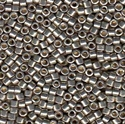 Picture of Miyuki Delica Seed Beads | 11/0 - DB-1851 (S) DURACOAT Galvanized Lt. Pewter (5 g.)