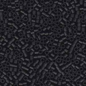 Picture of Miyuki Delica Seed Beads | 15/0 - DBS-0310 (D) Matte Opaque Black (5 g.)