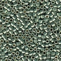 Picture of Miyuki Delica Seed Beads | 11/0 - DB-1846 (S) DURACOAT Galvanized Lt. Teal (5 g.)