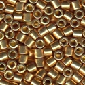 Picture of Miyuki Delica Seed Beads | 8/0 - DBL-1834 (O) DURACOAT Galvanized Rose Gold (5 g.)