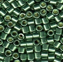 Picture of Miyuki Delica Seed Beads | 8/0 - DBL-1845 (O) DURACOAT Galvanized Moss Green (5 g.)