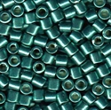 Picture of Miyuki Delica Seed Beads | 8/0 - DBL-1847 (O) DURACOAT Galvanized Teal (5 g.)