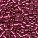Picture of Miyuki Delica Seed Beads | 8/0 - DBL-1849 (O) DURACOAT Galvanized Wine Berry (5 g.)