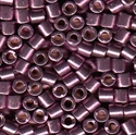 Picture of Miyuki Delica Seed Beads | 8/0 - DBL-1850 (O) DURACOAT Galvanized Purple Grape (5 g.)