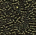 Picture of Miyuki Delica Seed Beads | 11/0 - DB-0011 (L) Metallic Olive Green (5 g.)