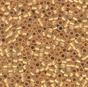 Picture of Miyuki Delica Seed Beads | 11/0 - DB-0230 (PM4) 24KT Gold Lined Opal (2.5g)