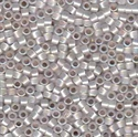 Picture of Miyuki Delica Seed Beads | 11/0 - DB-0223 (D) Gilt-Lined White Opal AB (5 g.)