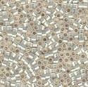 Picture of Miyuki Delica Seed Beads | 11/0 - DB-0221 (C) Gilt-Lined White Opal (5 g.)