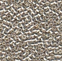 Picture of Miyuki Delica Seed Beads | 11/0 - DB-0035 (L) Galvanized Silver (5 g.)