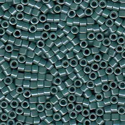 Picture of Miyuki Delica Seed Beads | 11/0 - DB-0264 (C) Opaque Dk. Sea Green Luster (5 g.)