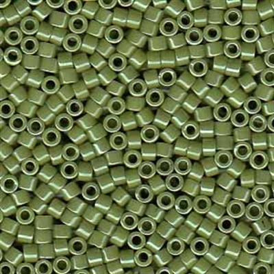 Picture of Miyuki Delica Seed Beads | 11/0 - DB-0263 (C) Opaque Olive Luster (5 g.)