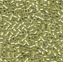 Picture of Miyuki Delica Seed Beads | 11/0 - DB-0903 (A) Celery Lined Crystal w/Sparkle (5 g.)