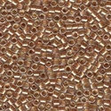 Picture of Miyuki Delica Seed Beads | 11/0 - DB-0901 (A) Rose Beige Lined Crystal w/Sparkle (5 g.)