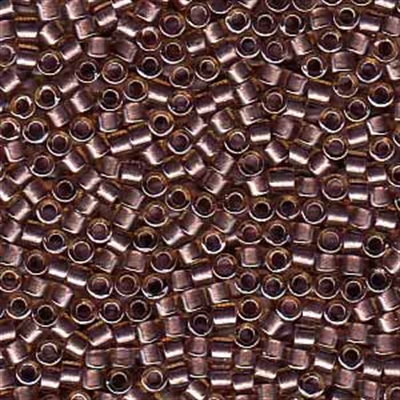 Picture of Miyuki Delica Seed Beads | 11/0 - DB-0912 (A) Amethyst Lined Lt. Topaz w/Sparkle (5 g.)