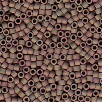 Picture of Miyuki Delica Seed Beads | 11/0 - DB-1061 (T) Matte Clay Luster AB (5 g.)