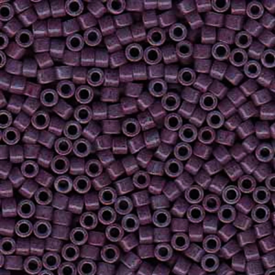 Picture of Miyuki Delica Seed Beads | 11/0 - DB-0662 (B) Dyed Opaque Mulberry Purple (5 g.)